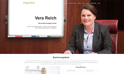 Vera Reich – Knigge-Trainerin