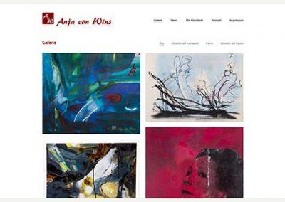 Künstlerportfolio – Anja von Wins