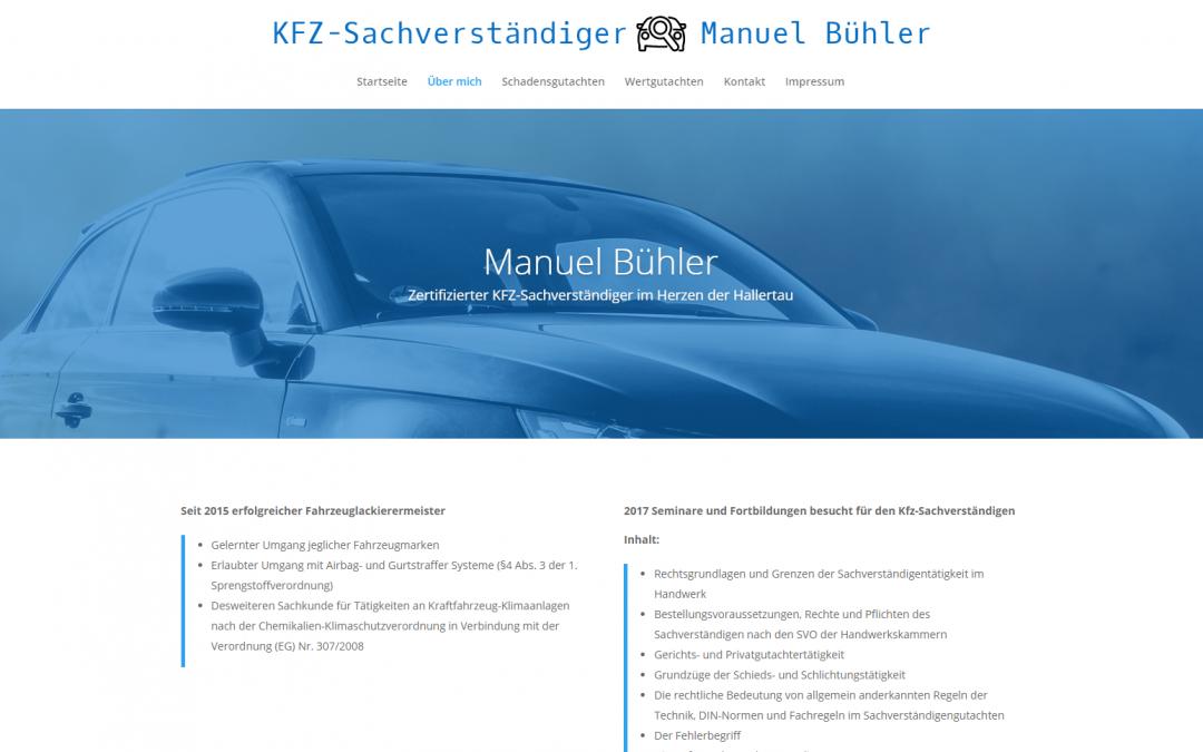 KFZ-Sachverständiger Bühler